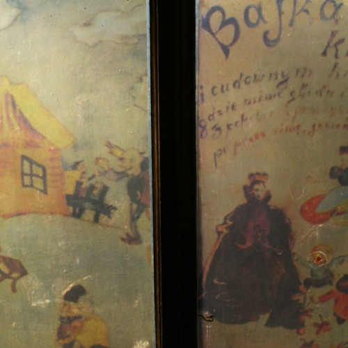 teatr szwalnia rysunek z pamieci Litzmannstadt Getto