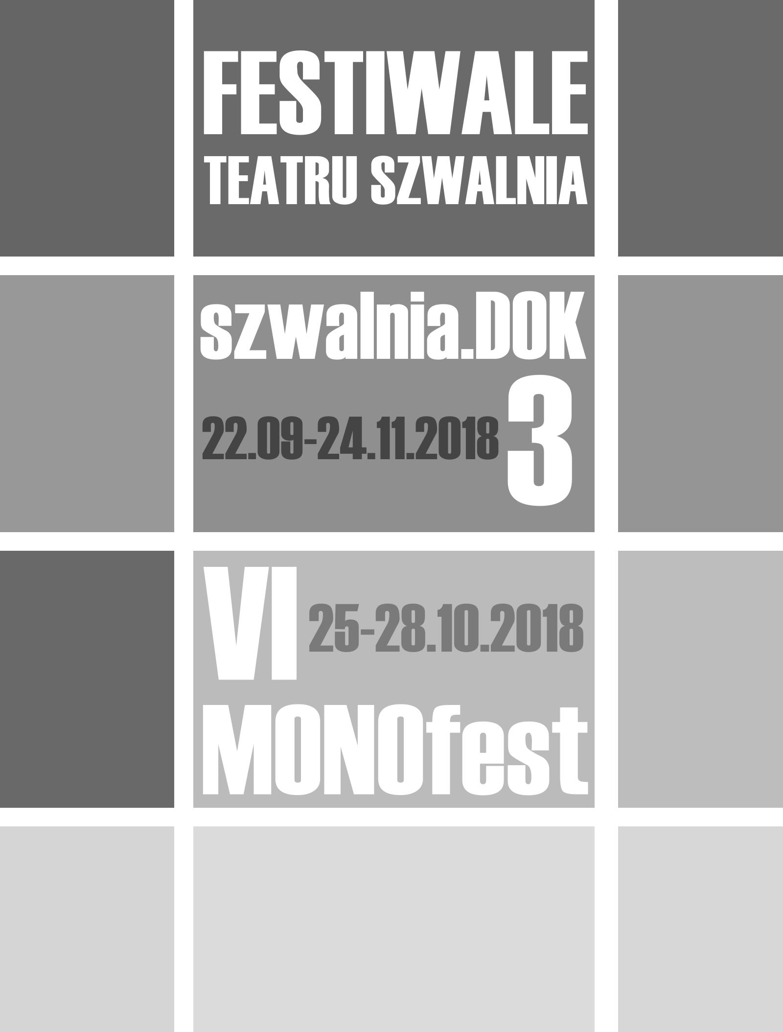 Festiwale Teatru Szwalnia 2018 Teatr Szwalnia
